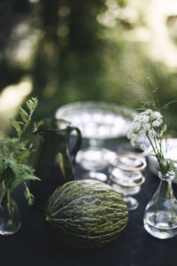 Kesälounas ja hunajamelonisalaatti