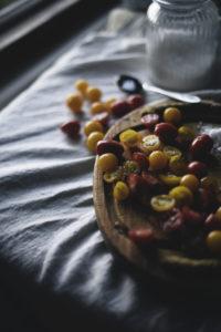 Marinoitu tomaattisalaatti