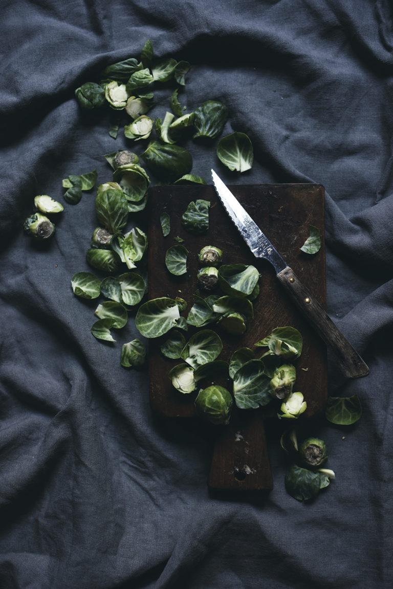 Paahdetut ja rapeat ruusukaalit