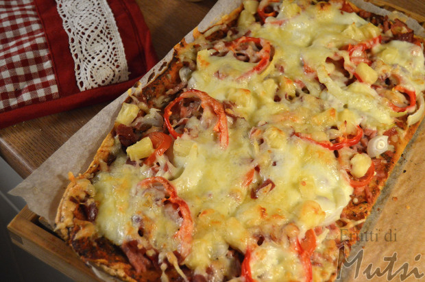 tikis pizza 205kcal