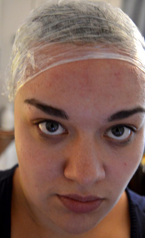 Hiusten laminointi