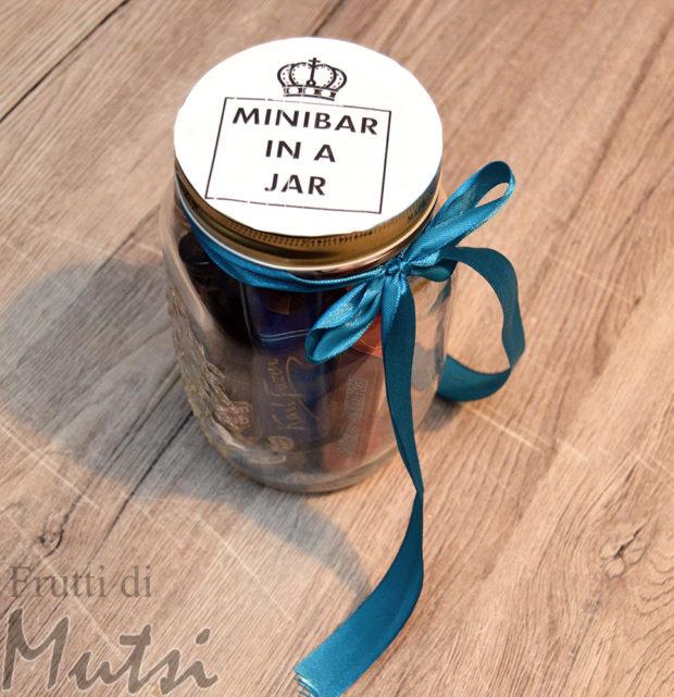 Minibar in a jar