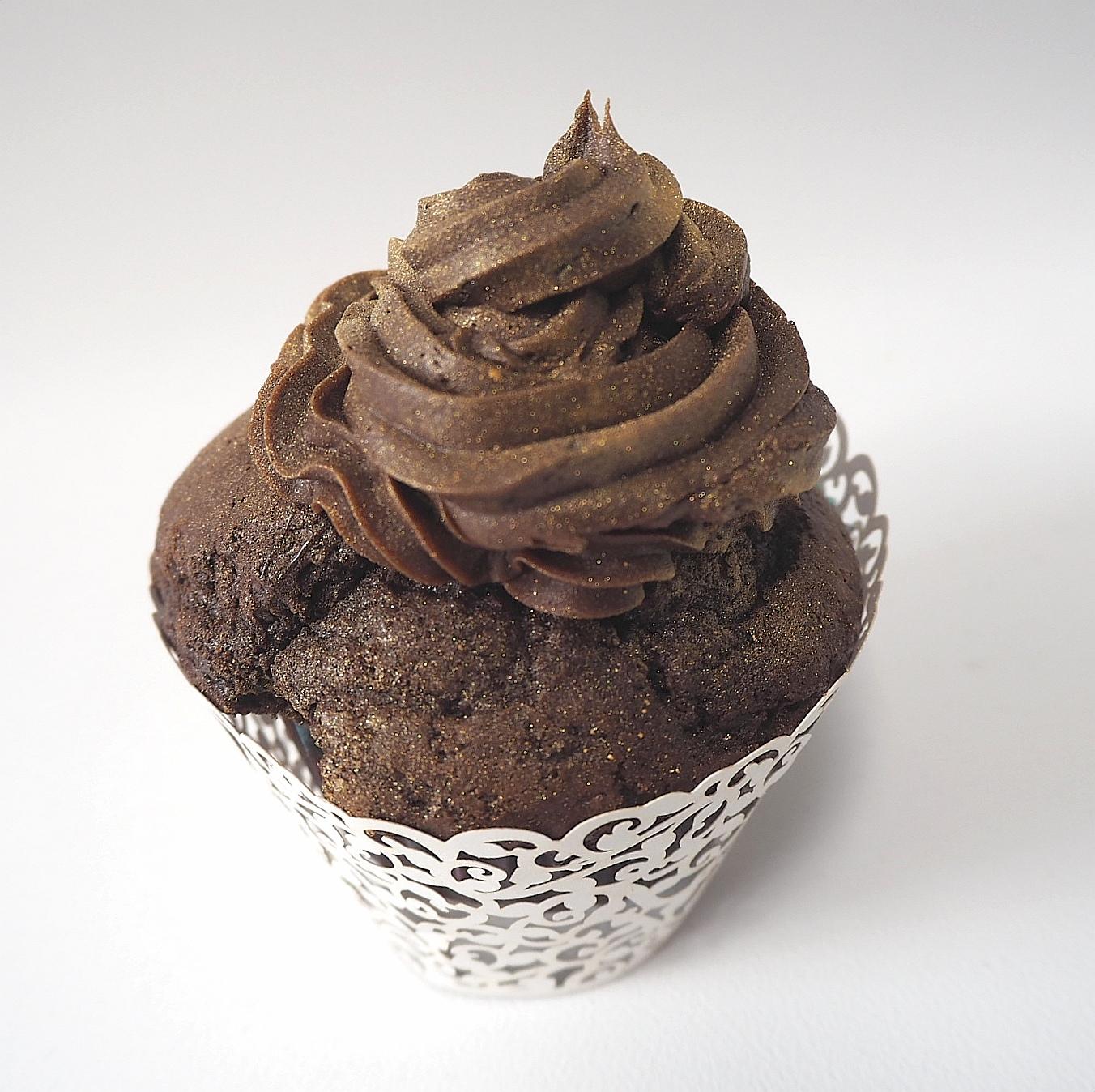 suklaa kuppikakku muffini
