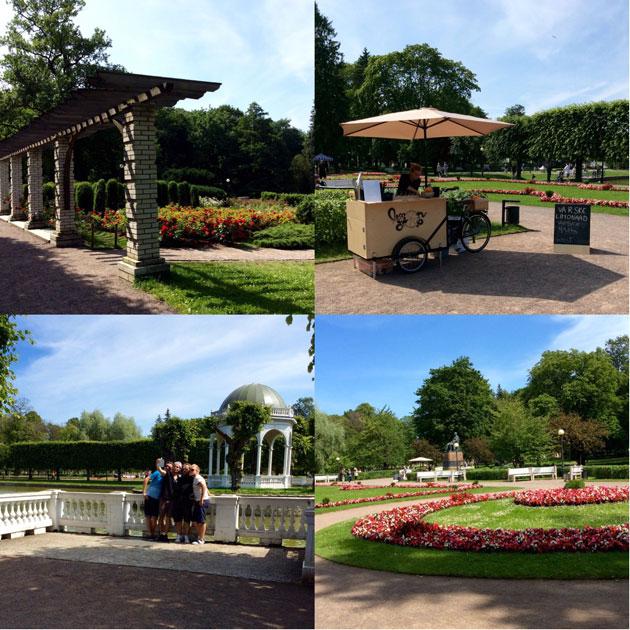 Kuvia Kadriorgin puistosta Tallinnassa