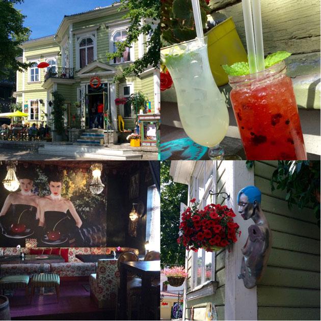 Kuvia ravintola Manna la Roosasta ja sen drinkeistä Tallinnassa