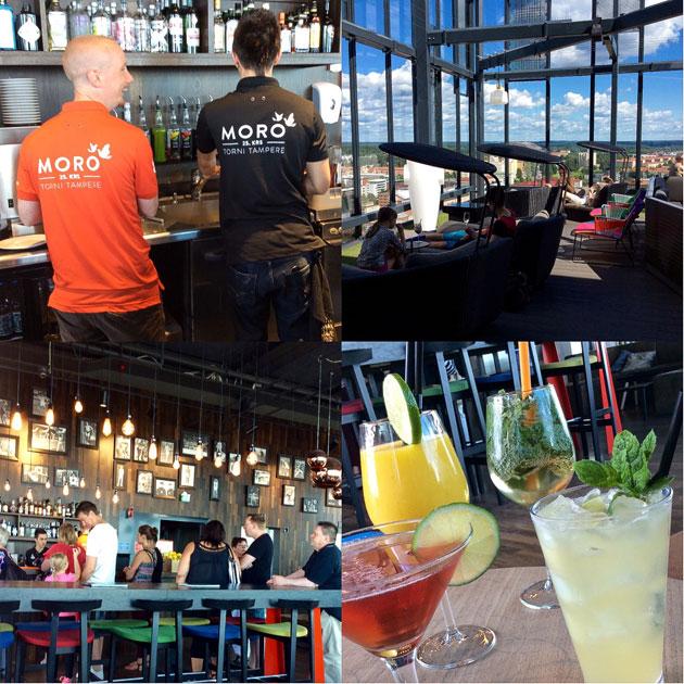 Moro Sky Bar ja sen herkulliset drinkit