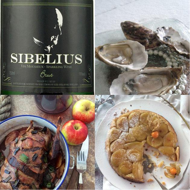 Himahellan Sibelius-menu