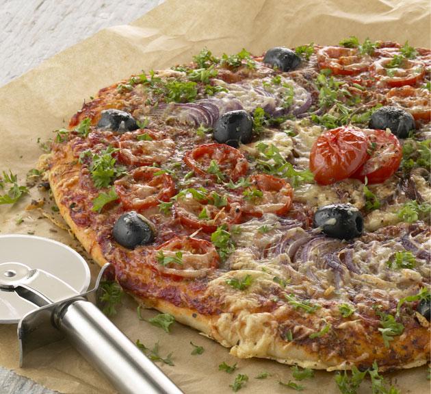Pizza ja pizzaleikkuri