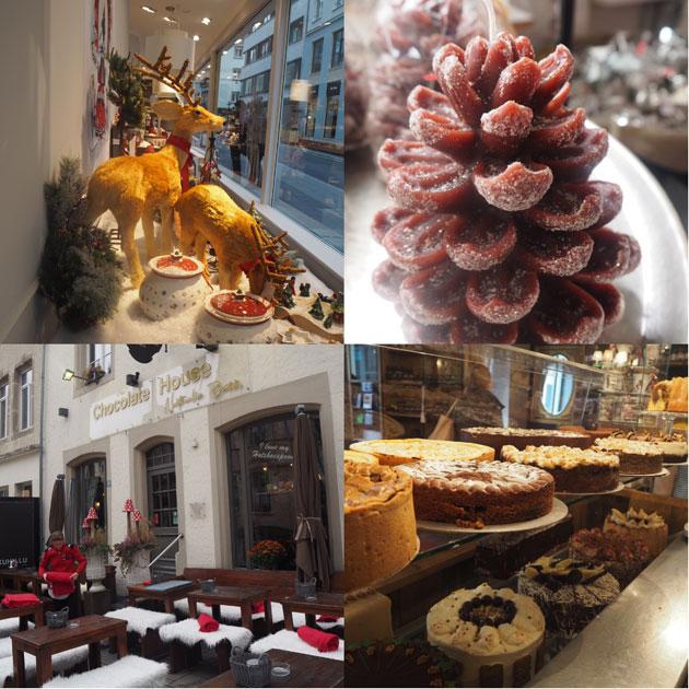 Chocolate House -kahvila Luxemburg