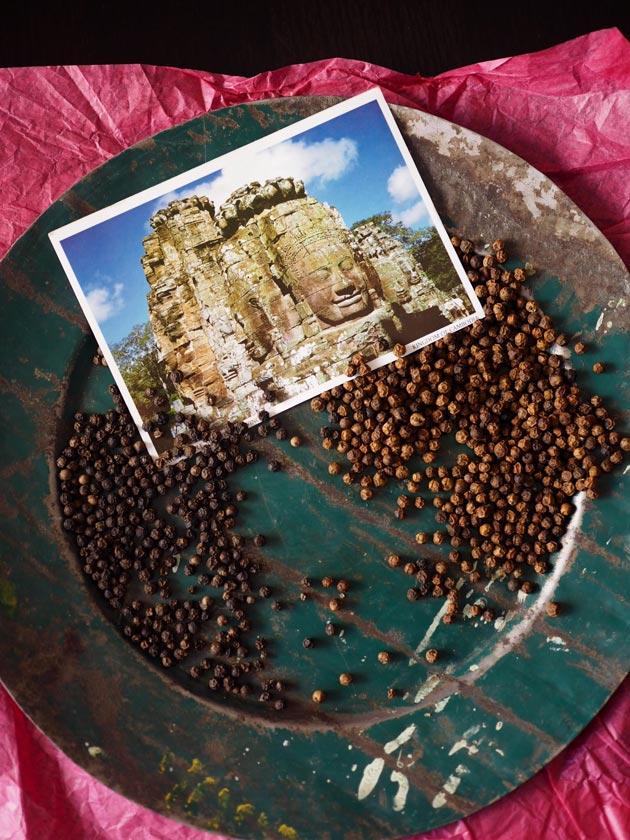 kampot-musta ja -punapippurit