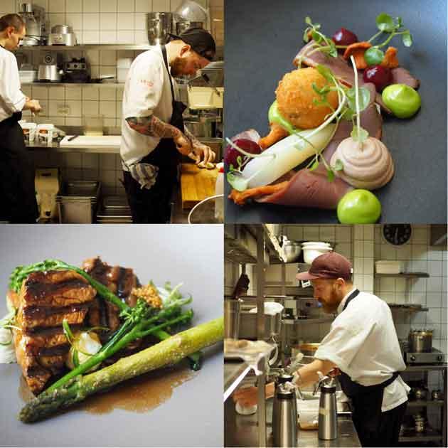 Ravintola Ragun keittiö
