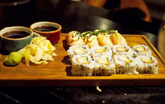 Masu Asian Bistro sushi
