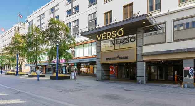 Hotelli Verso sijaitsee jyväskylässä
