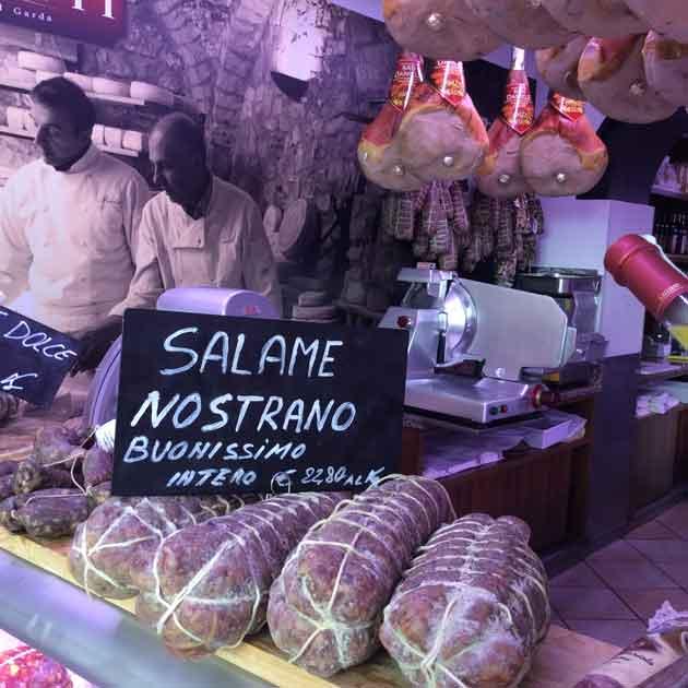 Italia-salami