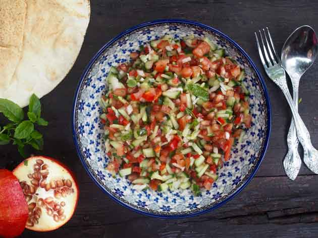 Lähi-itä-salaatti