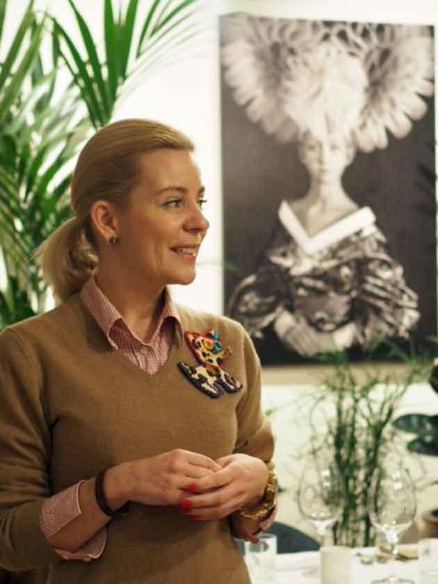 Jaanika Tigasson on Mon Rpos -ravintolan johtaja.