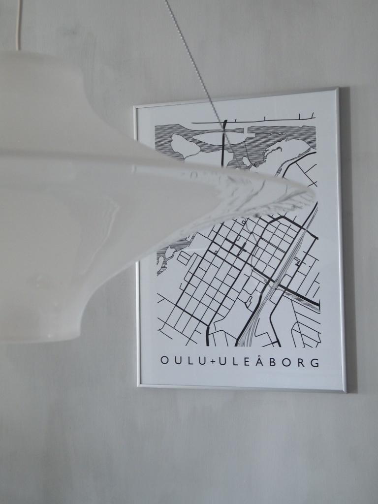 ruokailutilan Oulu-juliste