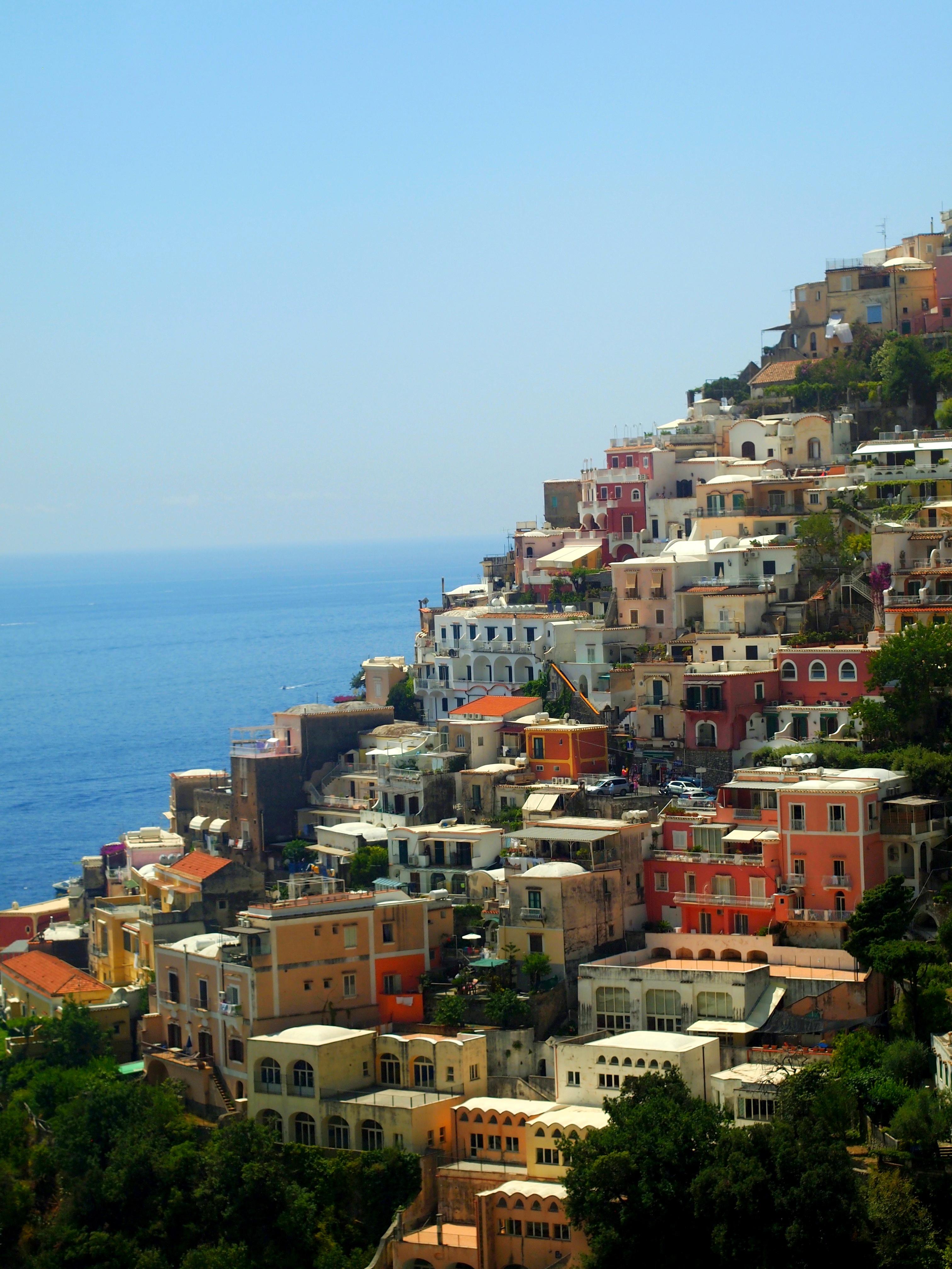 Häämatkakohde Italia Positano