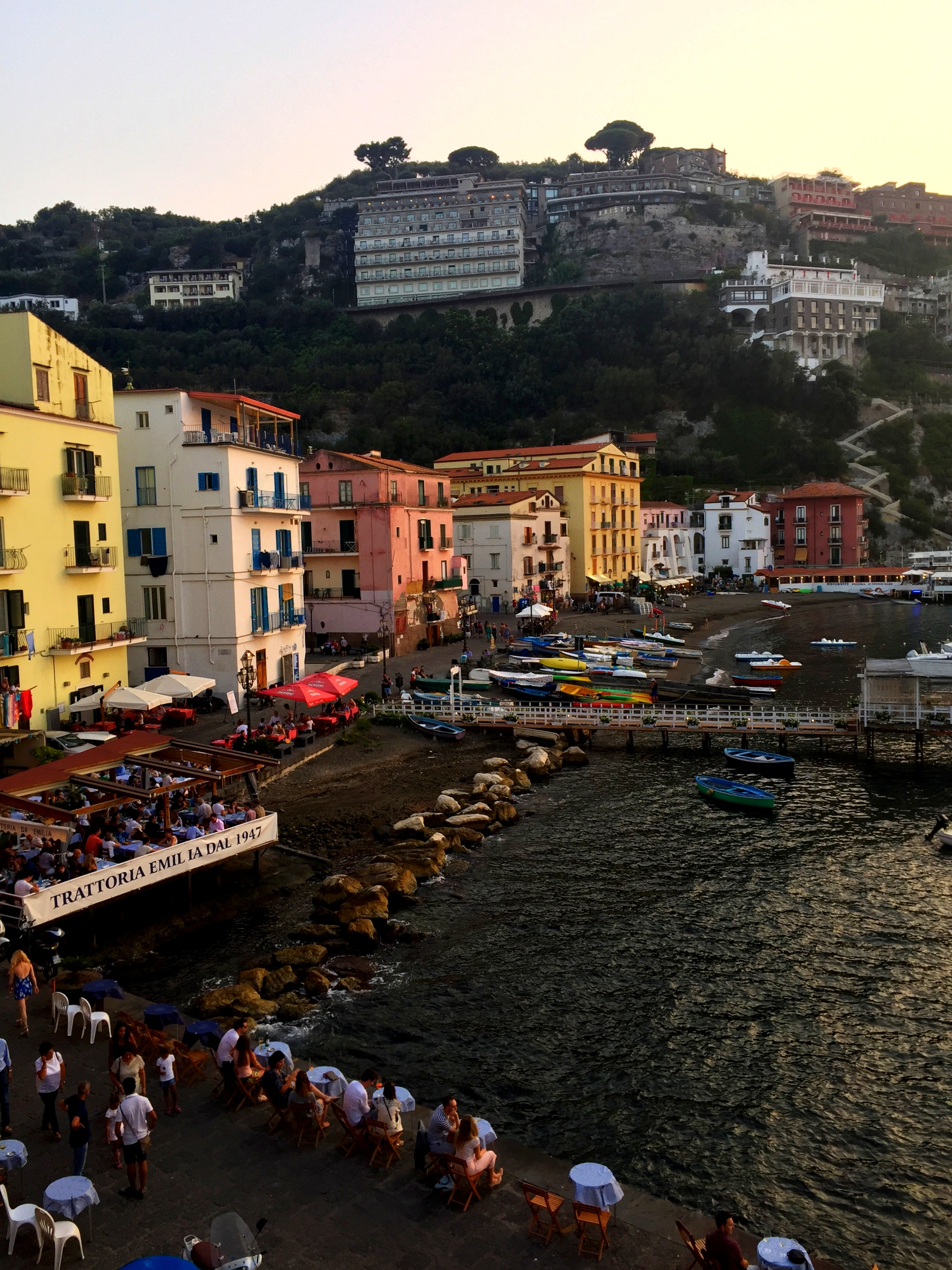 Häämatka Italiaan, Sorrento