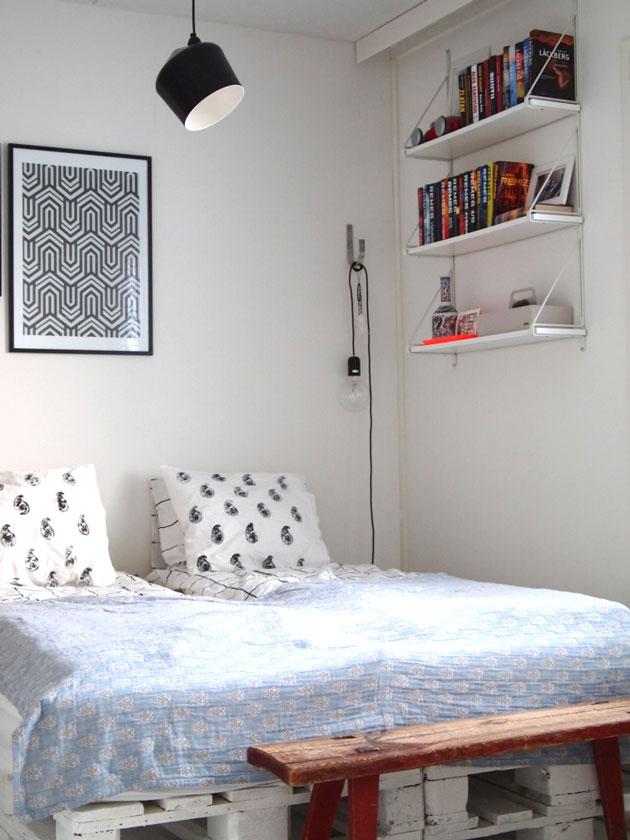 innolux pasila-kattovalaisin makuuhuoneessa