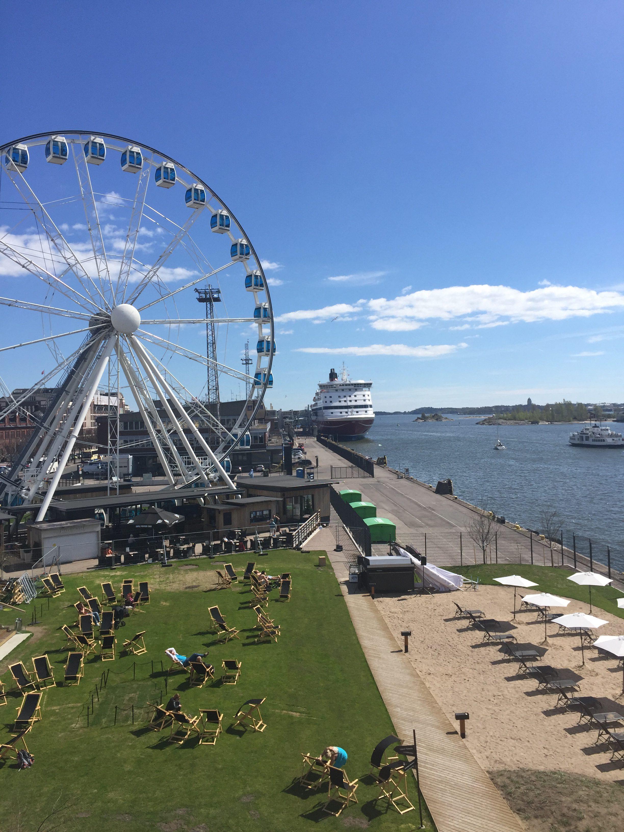 Uimaan Helsingin keskustassa, Allas Sea Pool