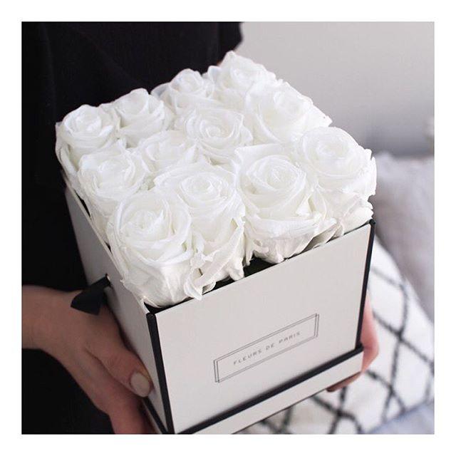 vuoden kestävät ruusut boksissa
