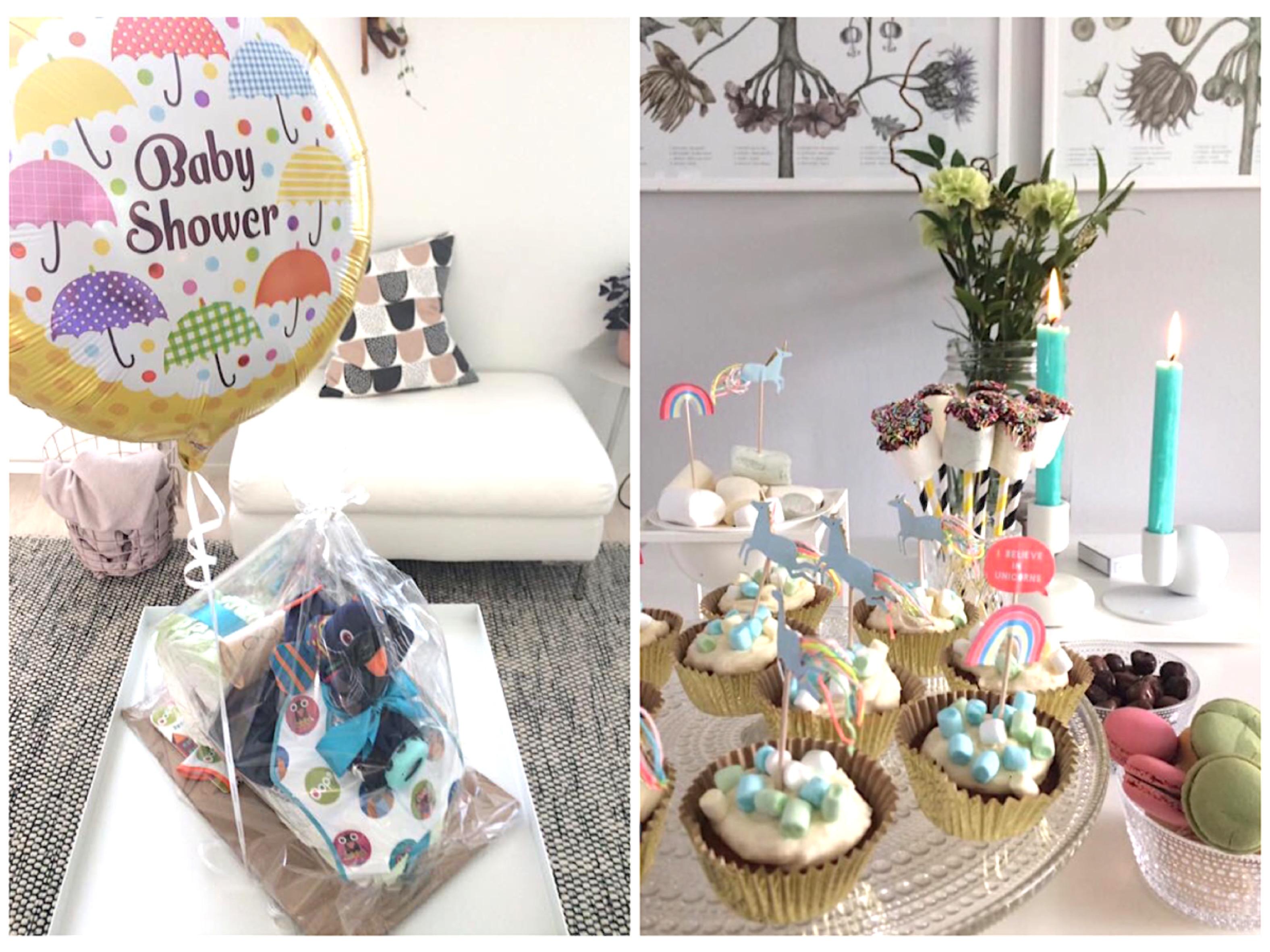 Babyshower juhlat ja kattaus Babyshower juhliin