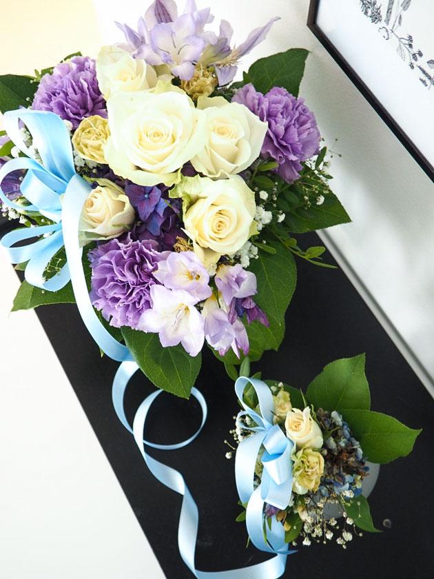 onnittelu kukkakimppu vauvalle