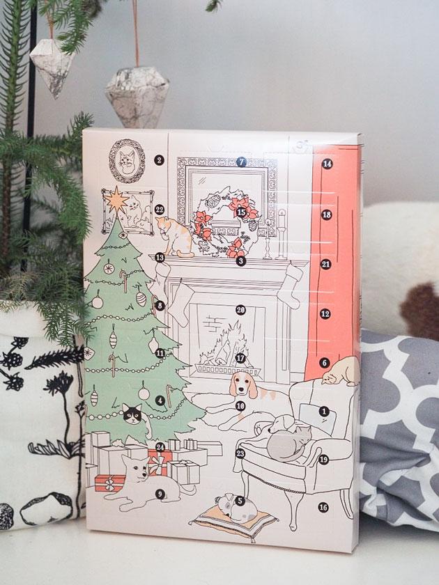 koiran joulukalenteri