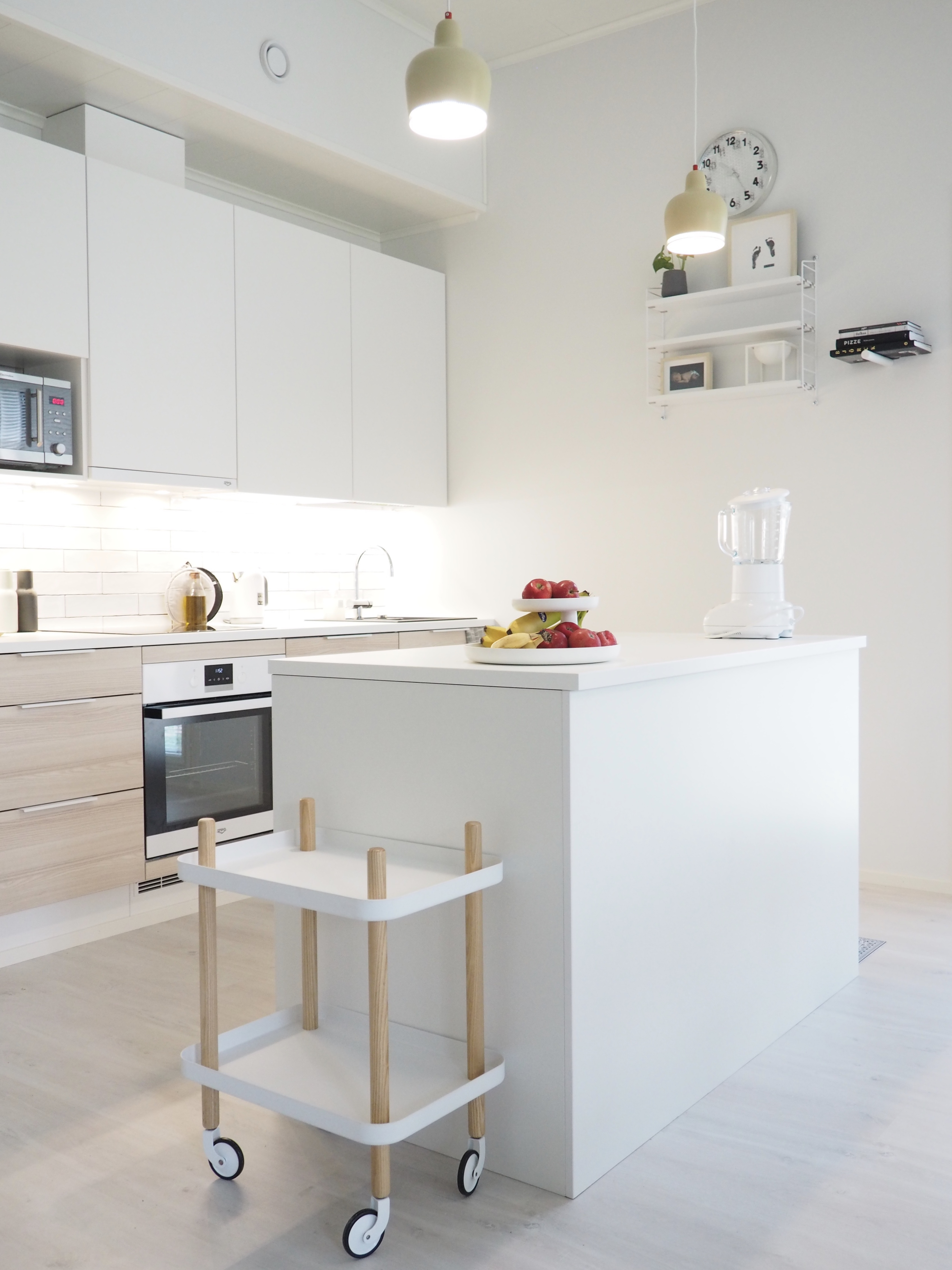uuden kodin keittiö
