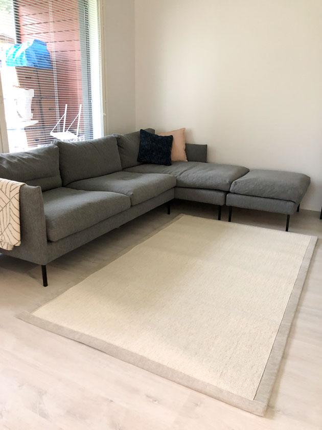 uusi matto olohuoneeseen