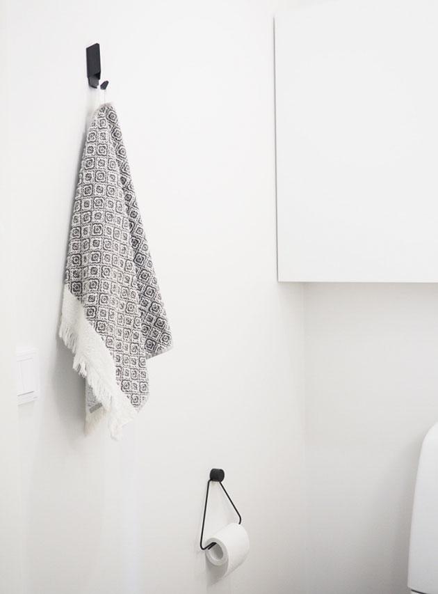 pienen wc:n sisustus