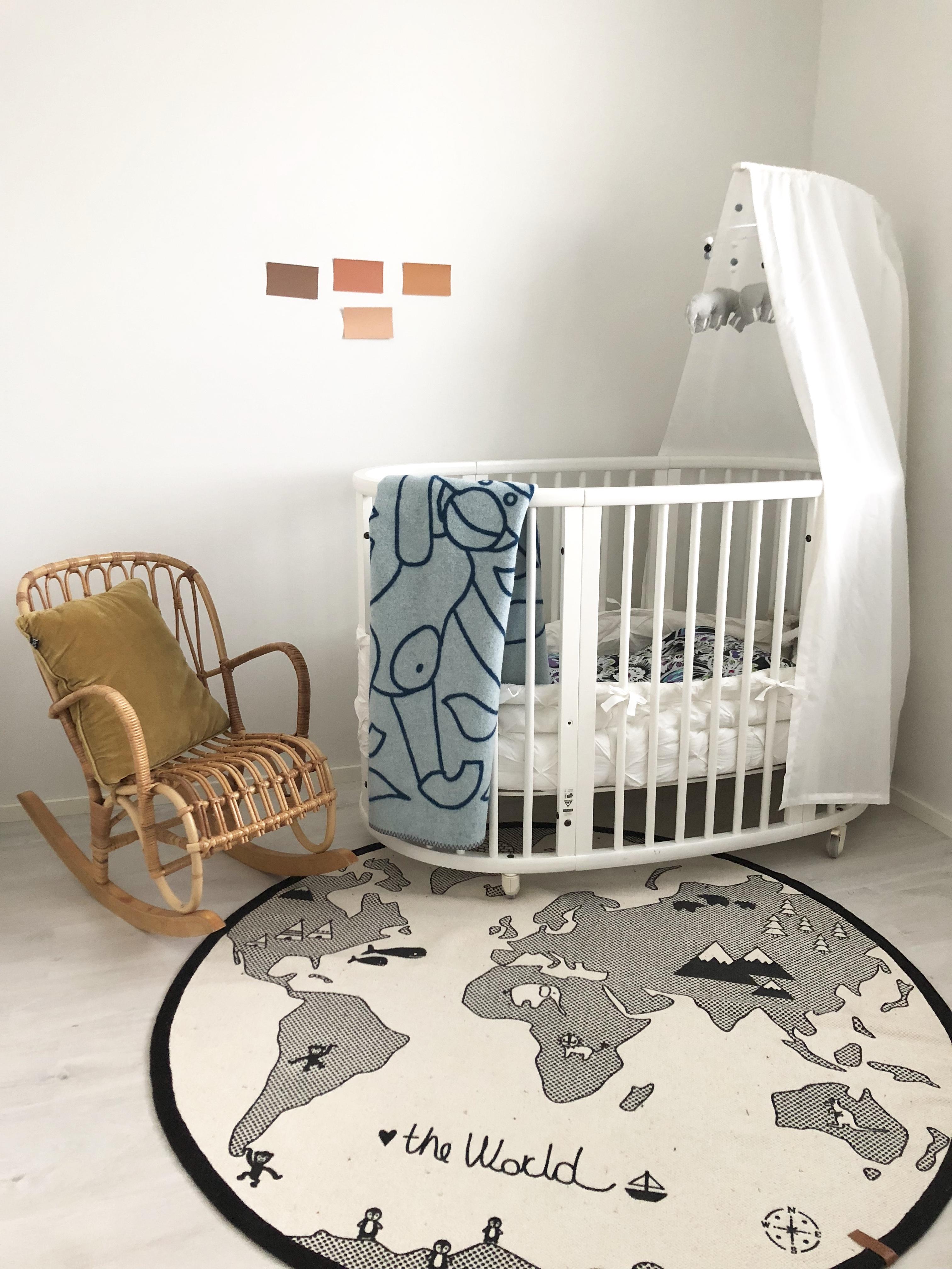 Maalin valinta lastenhuoneeseen