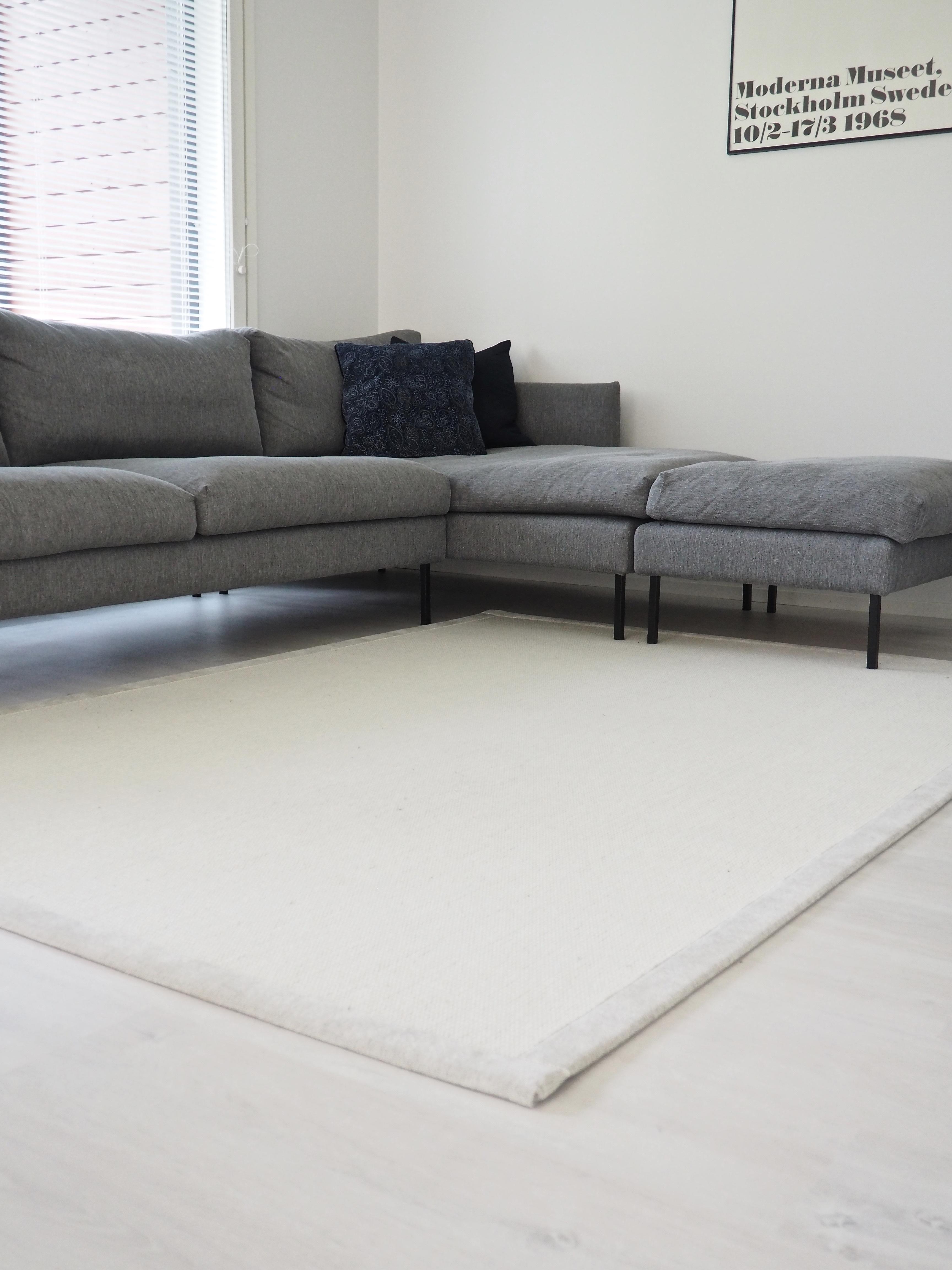 olohuoneen uusi matto, vm carpet esmeralda