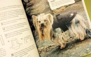 Teddykauluksinen mantteli koiralle