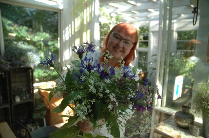 kukkakimppu ja juhannus