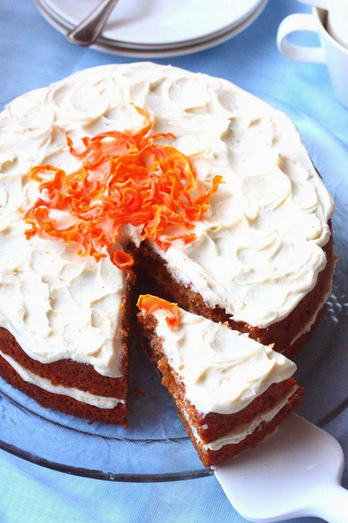 Maailman paras porkkanakakku