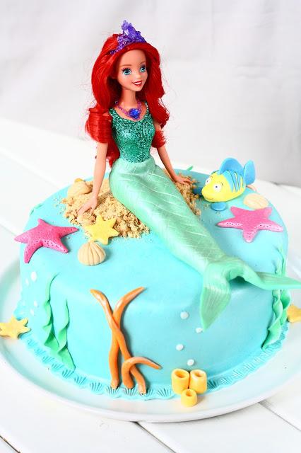 Ariel kakku