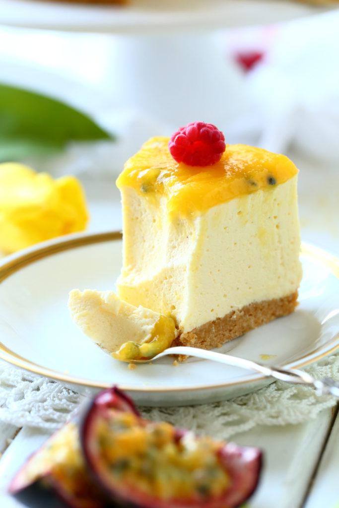 Mango passion kiille raikastaa juustokakun