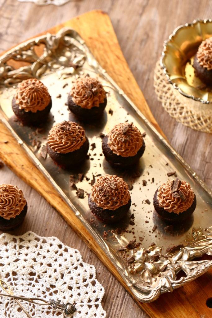 Helpot ja nopeat suklaamuffinssit