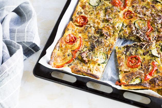 Pizzapannari on helppo välipala.