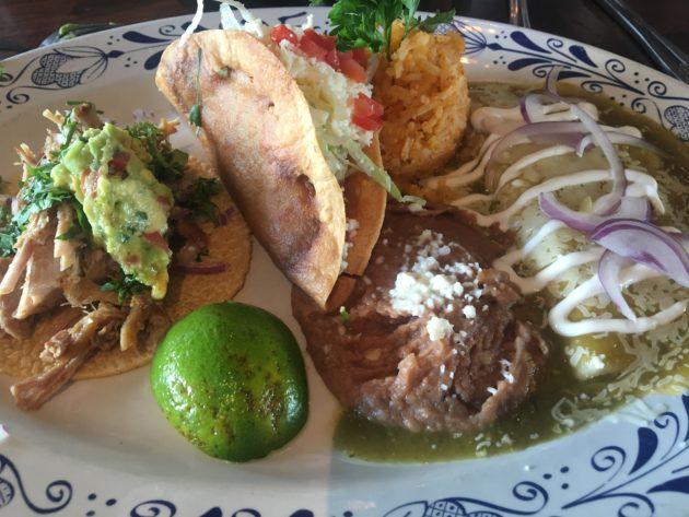 Kaliforniassa saa todella hyvää meksikolaista ruokaa.