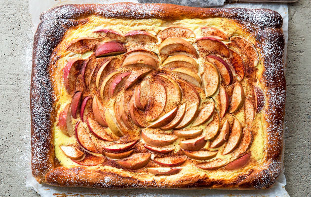 Pulla-omena-rahkapiirakka