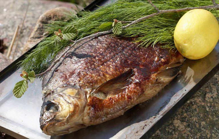 Kalan savustaminen: savulahna