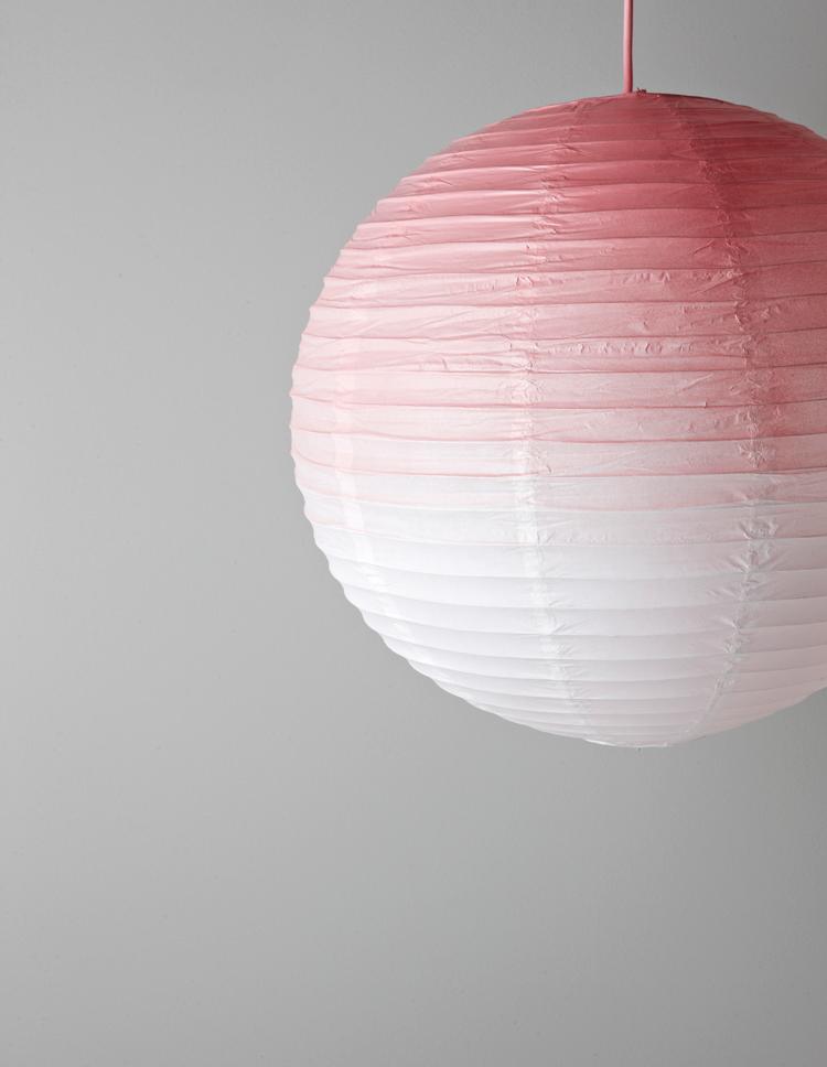 Kuva - Tee itse liukuvärjätty lampunvarjostin