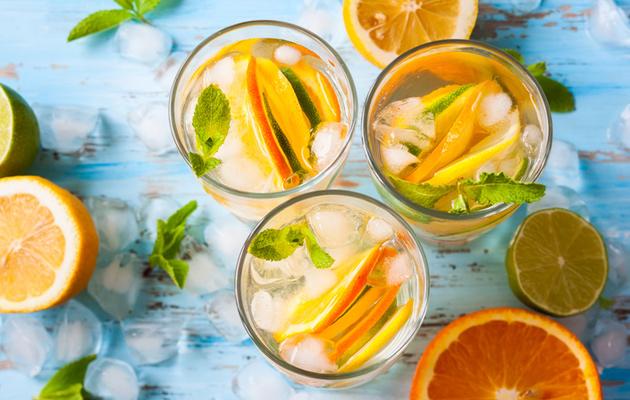 Kesän raikas appelsiinidrinkki