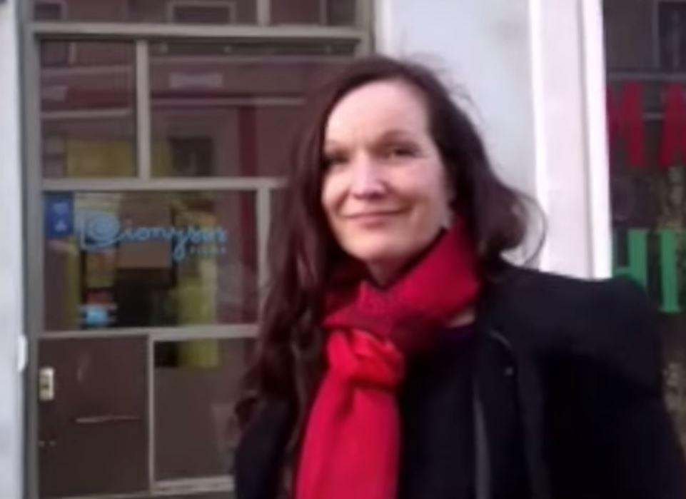 Johanna Vuoksenmaa videohaastattelussa