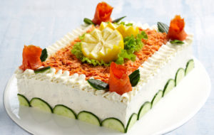 Lohivoileipä kakku