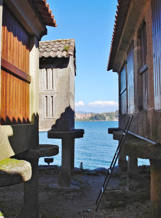Combarron vanha kalastajakylä