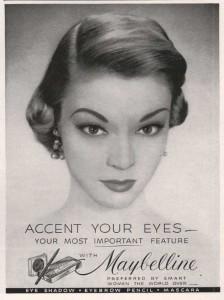 Lähes alusta asti tuotteiden markkinoinnissa olivat mukana Hollywoodin tähdet ja glamour. Nykyään eri kauneusbrändeillä on omat nimikkokasvonsa.